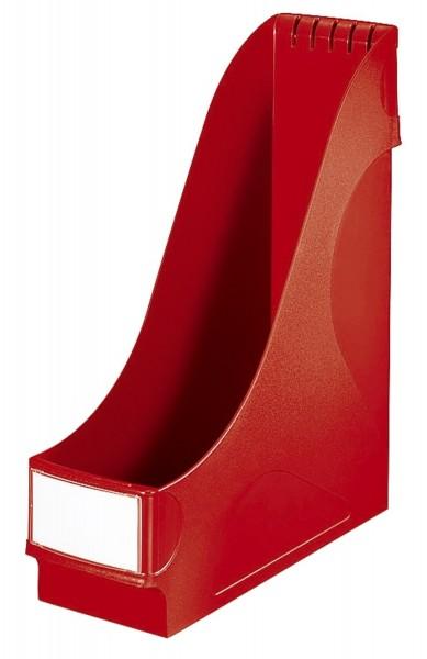 Leitz 2425 Stehsammler - extrabreit, A4, Kunststoff, rot