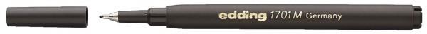 Edding 1701 M Finelinermine - Ersatzmine, 0,5 mm, schwarz