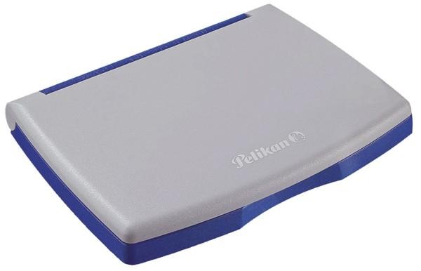 Pelikan® Stempelkissen 2E Kunststoff-Gehäuse, getränkt, 110 x 70 mm, blau
