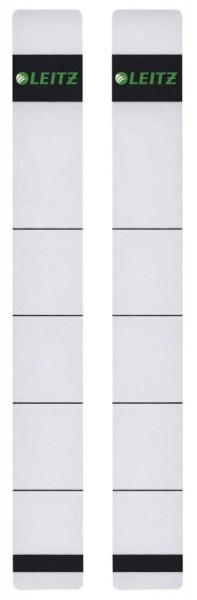 Leitz 1646 Rückenschilder - extra schmal/kurz, 23 x 192 mm, hellgrau