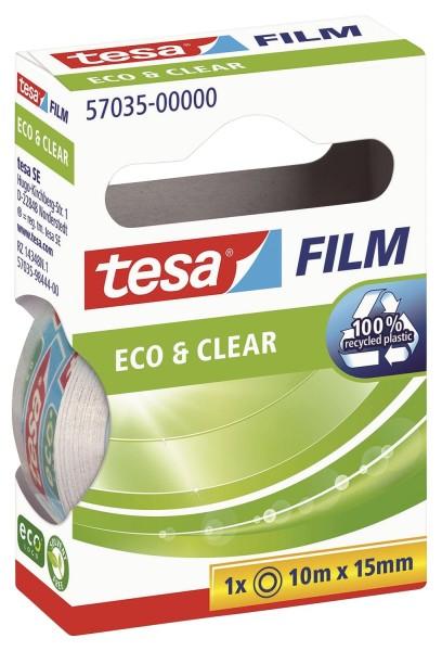 tesa® Eco & Clear - unsichtbar, Bandgröße (L x B): 10 m x 15 mm