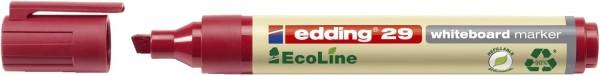 Edding 29 Boardmarker EcoLine - nachfüllbar, 1-5 mm, rot