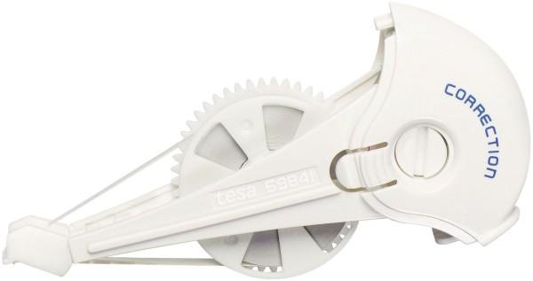 tesa® Kassette für Korrekturroller Roller Korrigieren ecoLogo, 4,2 mm x 14 m