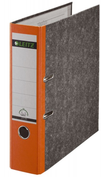 Leitz 1080 Ordner A4 Wolkenmarmor, 80 mm, orange