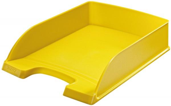 Leitz 5227 Briefkorb Standard Plus, A4, Polystyrol, gelb