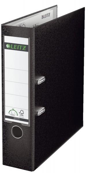 Leitz 1010 Ordner Plastik - A4, 80 mm, schwarz