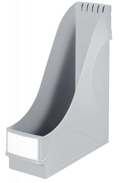 Leitz 2425 Stehsammler - extrabreit, A4, Kunststoff, grau