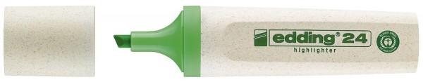 Edding 24 Textmarker Highlighter EcoLine - nachfüllbar, hellgrün