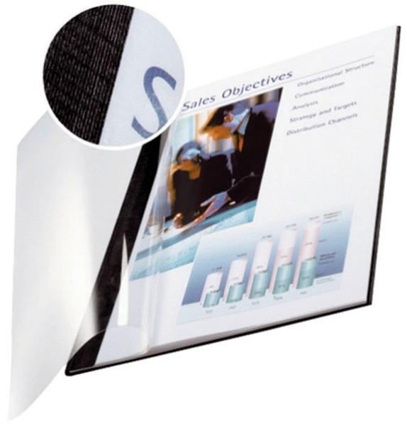 Leitz 7399 Bindemappe impressBIND - Soft Cover, A4, 7 mm, 10 Stück, schwarz