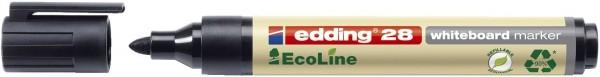 Edding 28 Boardmarker EcoLine - nachfüllbar, 1,5 - 3 mm, schwarz