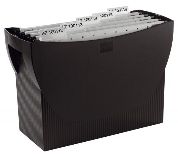 HAN Hängemappenbox SWING, für 20 Hängemappen, schwarz
