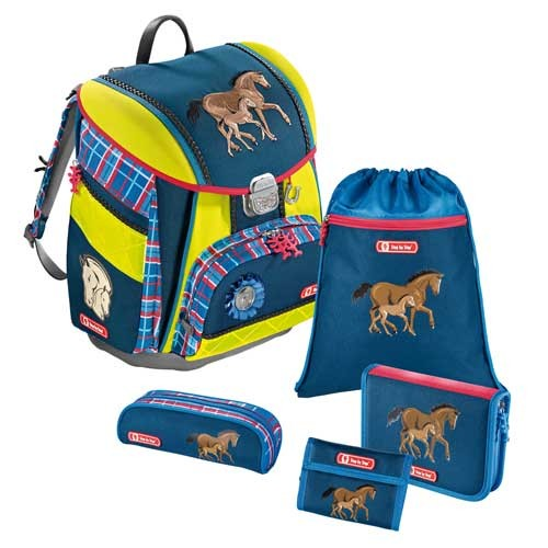 Step by Step TOUCH DIN Schulranzen-Set, 5-teilig, Horse Family