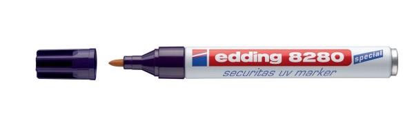 Edding 8280 Spezialmarker securitas UV marker - 1,5 - 3 mm, farblos
