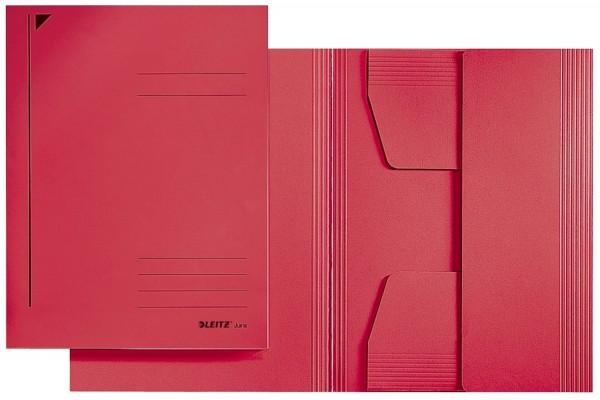 Leitz 3924 Jurismappe, A4, Colorspankarton 300g, rot