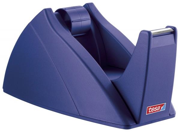 tesa® Tischabroller für Klebefilm tesa Easy Cut®, 33 m x 19 mm, royalblau Abroller