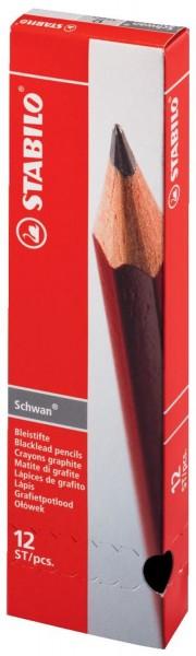 STABILO® Bleistift STABILO® Schwan®, HB, rot