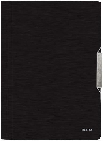 Leitz 3977 Eckspannermappe Style, A4, PP, satin schwarz
