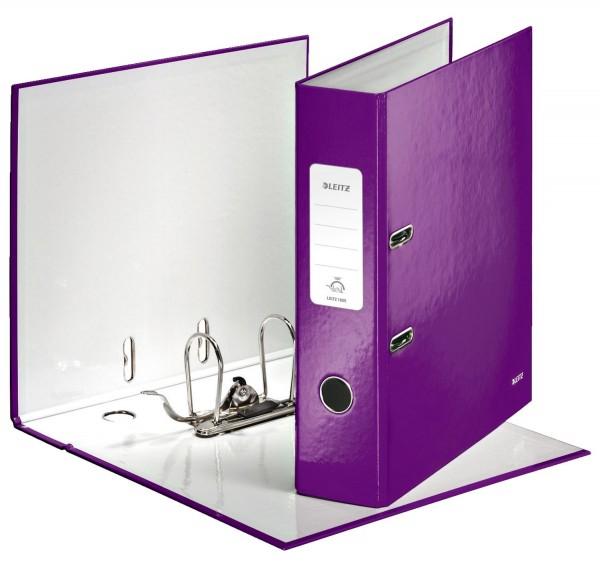 Leitz 1005 Ordner WOW A4 - 80 mm, violett