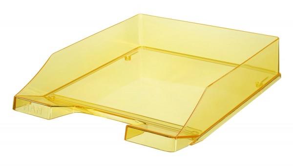 HAN Briefkorb KLASSIK A4, gelb-transparent