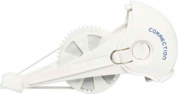 tesa® Kassette für Korrekturroller Roller Korrigieren ecoLogo, 8,4 mm x 14 m