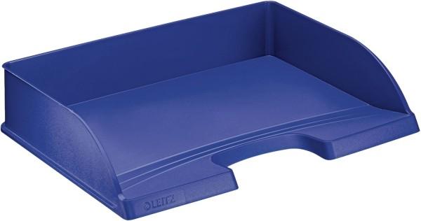 Leitz 5218 Briefkorb Standard Plus, A4 quer, Polystyrol, blau