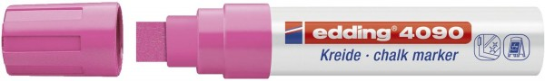 Edding 4090 Windowmarker - 4 - 15 mm, neonpink