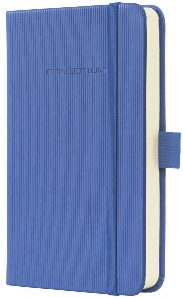 Sigel Modisch Notizbuch CONCEPTUM® - ca. A6, kariert, 194 Seiten, blau, Hardcover