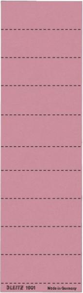 Leitz 1901 Blanko-Schildchen - Karton, 100 Stück, rot