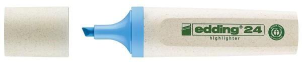 Edding 24 Textmarker Highlighter EcoLine - nachfüllbar, hellblau