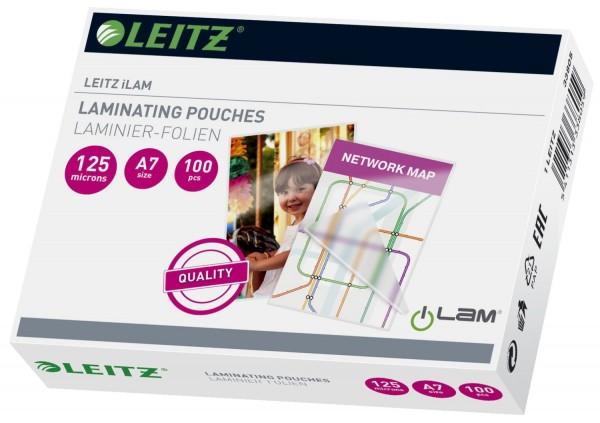 Leitz 33805 Folientasche 125 Micron für A7 100St