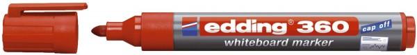 Edding 360 Boardmarker - nachfüllbar, 1,5 - 3mm, rot