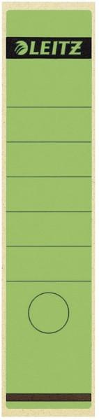Leitz 1640 Rückenschilder - Papier, lang/breit, 10 Stück, grün