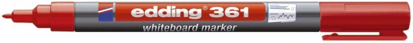 Edding 361 Boardmarker - nachfüllbar, 1 mm, rot