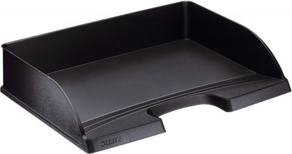 Leitz 5218 Briefkorb Standard Plus, A4 quer, Polystyrol, schwarz