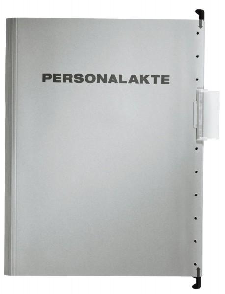 Leitz 30041 Hängemappe Personalakte, 250 g Karton, A4, 5 Fächer, grau