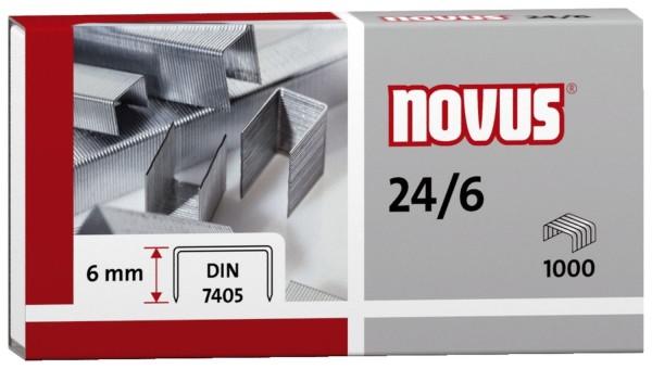 Novus® Heftklammern Nr. 24/6 DIN