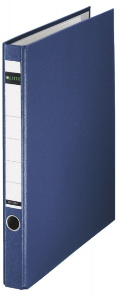 Leitz 1014 Ringordner, A4, PP, 2 Ringe, 35 mm, blau