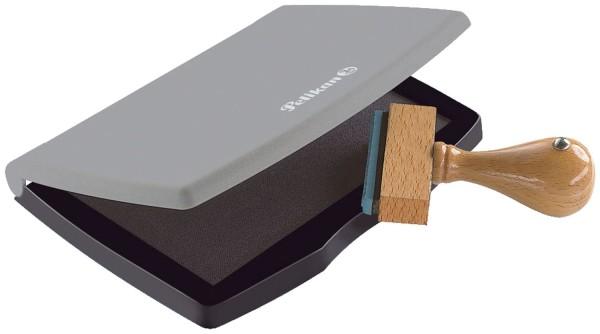 Pelikan® Stempelkissen 2E Kunststoff-Gehäuse, getränkt, 110 x 70 mm, schwarz