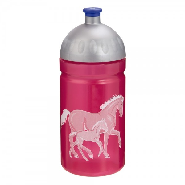 """Step by Step Trinkflasche """"Lucky Horses"""", Pink"""