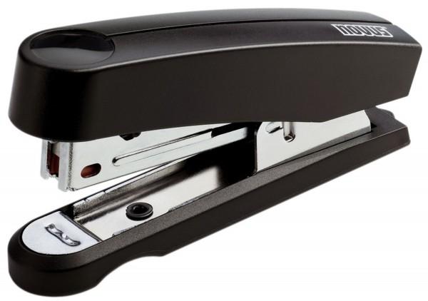 Novus® Heftgerät (Büro) B10 - Professional schwarz, 15 Blatt, 38 mm, schwarz