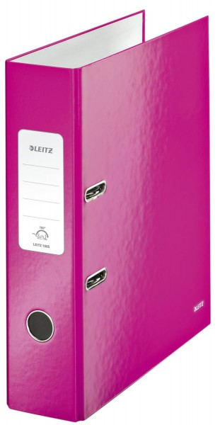 Leitz 1005 Ordner WOW A4 - 80 mm, pink metallic
