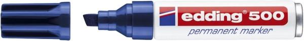 Edding 500 Permanentmarker - nachfüllbar, 2 - 7 mm, blau