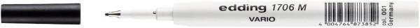 Edding 1706 M Vario Nachfüllmine - 0,5 mm, schwarz