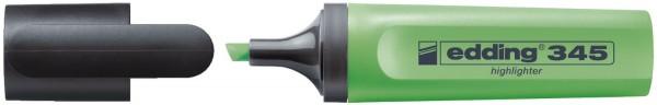 Edding 345 Textmarker highlighter - nachfüllbar, neonhellgrün