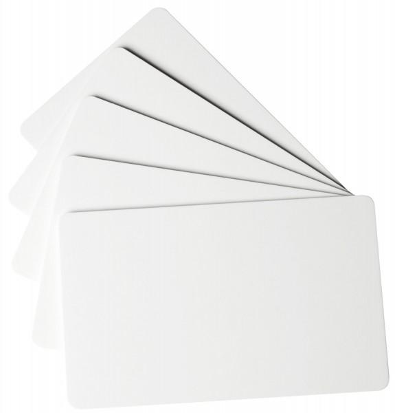 Durable Plastikkarte - 100 Stück, standard, weiß