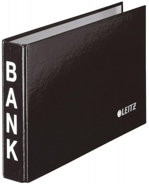 Leitz 1002 Bankordner, 2-Ringmechanik, 20 mm, schwarz