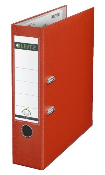 Leitz 1010 Ordner Plastik - A4, 80 mm, hellrot