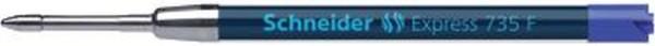 Schneider Großraummine Express 735 - F, blau (dokumentenecht)