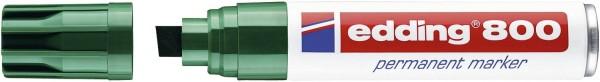 Edding 800 Permanentmarker - nachfüllbar, 4 - 12 mm, grün