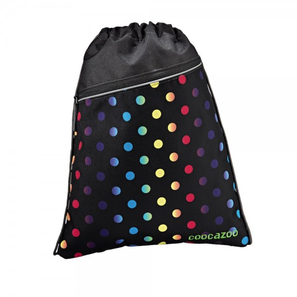 "Coocazoo Sportbeutel ""RocketPocket"", Magic Polka Colorful"